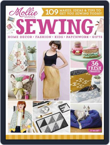 Mollie Makes Sewing Magazine (Digital) Cover
