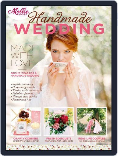 Mollie Makes Handmade Wedding Magazine (Digital) Cover