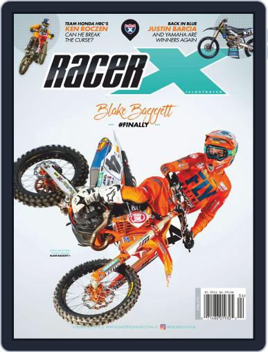 Racer X Illustrated (Digital) Cover