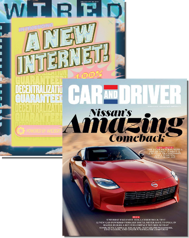 Wired & Car and Driver Bundle Cover
