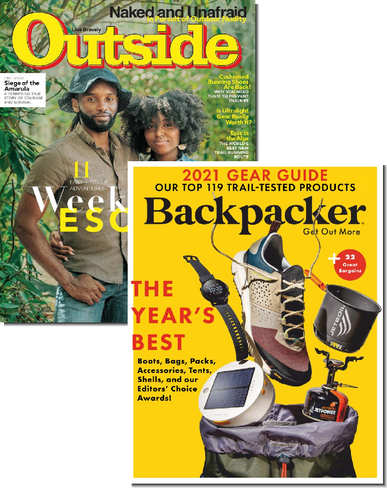Outside & Backpacker Bundle Cover