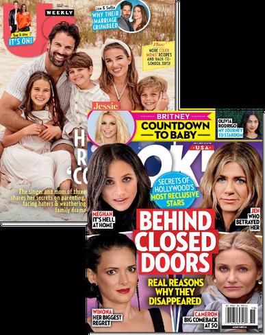 Us Weekly & OK! Bundle Cover