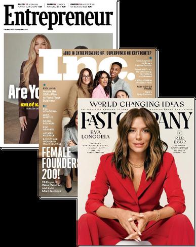 Inc, Entrepreneur & Fast Company Bundle Cover
