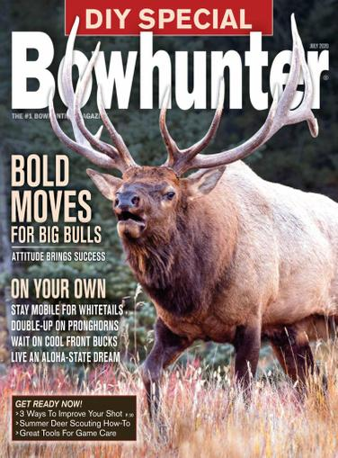 Bowhunter Magazine July 1st, 2020 Issue Cover