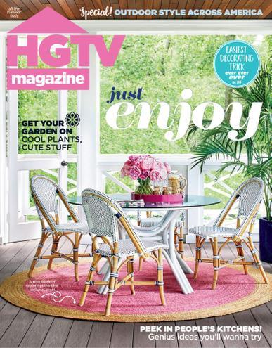 HGTV Magazine July 1st, 2020 Issue Cover