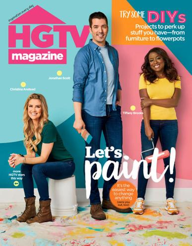 HGTV Magazine June 1st, 2020 Issue Cover