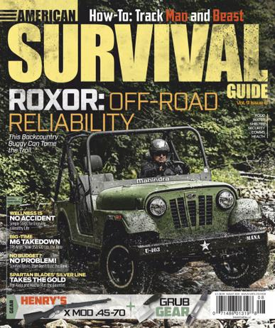 American Survival Guide Magazine August 1st, 2020 Issue Cover