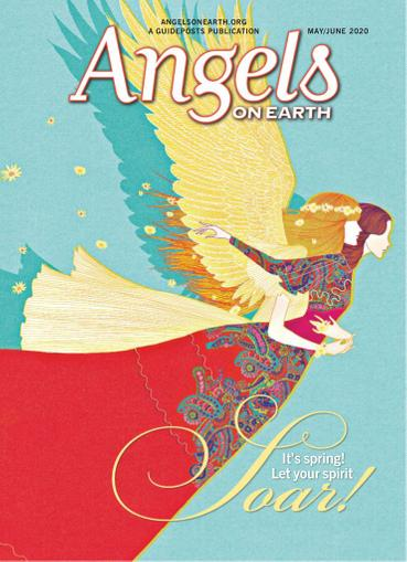 Angels on Earth Magazine May 1st, 2020 Issue Cover
