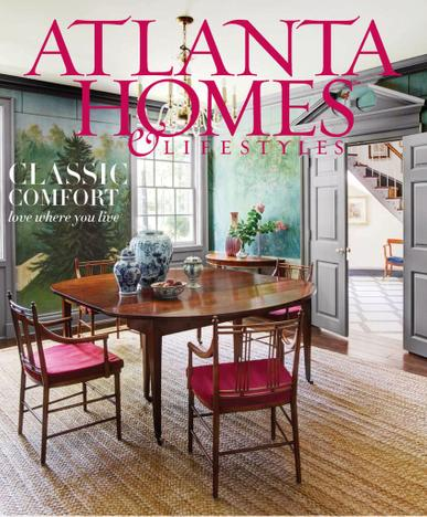 Atlanta Homes & Lifestyles Magazine May 1st, 2020 Issue Cover