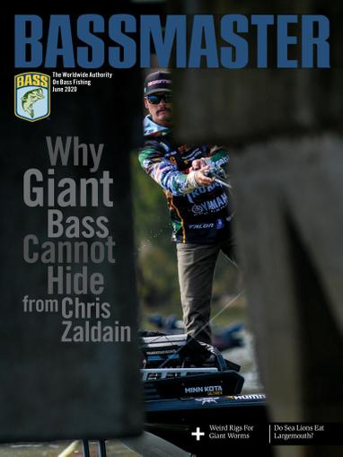 Bassmaster Magazine June 1st, 2020 Issue Cover