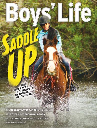 Boys' Life Magazine June 1st, 2020 Issue Cover