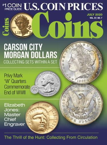 Coins Magazine July 1st, 2020 Issue Cover