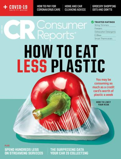 Consumer Reports Magazine June 1st, 2020 Issue Cover