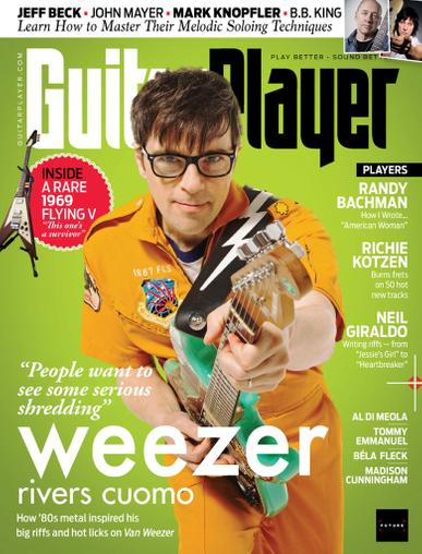 Guitar Player Magazine June 1st, 2020 Issue Cover
