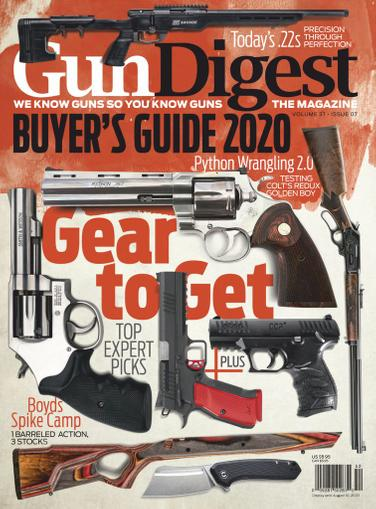 Gun Digest Magazine May 15th, 2020 Issue Cover