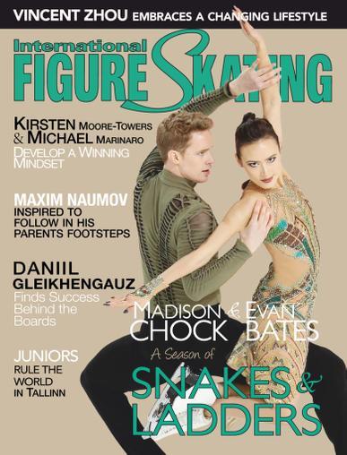 International Figure Skating Magazine June 1st, 2020 Issue Cover
