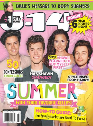 J-14 Magazine July 1st, 2020 Issue Cover