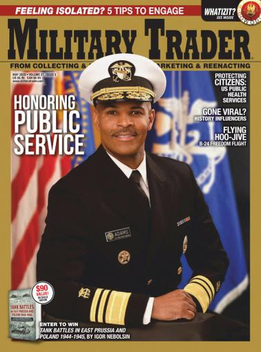 Military Trader Magazine May 1st, 2020 Issue Cover