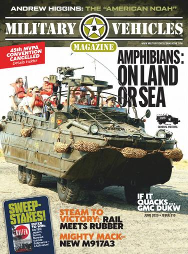 Military Vehicles Magazine June 1st, 2020 Issue Cover