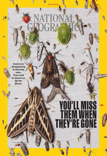 National Geographic Magazine May 1st, 2020 Issue Cover