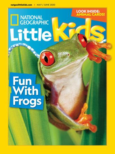 National Geographic Little Kids Magazine May 1st, 2020 Issue Cover