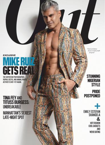 Out Magazine April 1st, 2020 Issue Cover