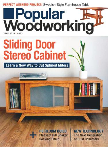 Popular Woodworking Magazine June 1st, 2020 Issue Cover