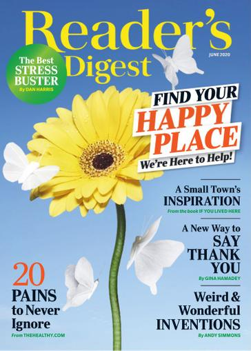 Reader's Digest Magazine June 1st, 2020 Issue Cover