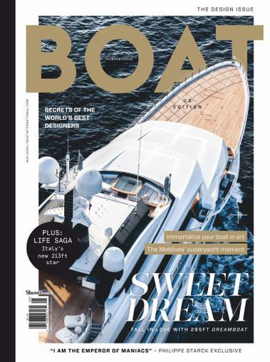 Showboats International Magazine May 1st, 2020 Issue Cover