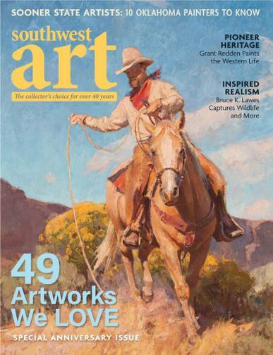 Southwest Art Magazine May 1st, 2020 Issue Cover