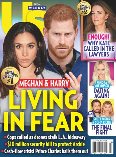 Us Weekly Magazine June 15th, 2020 Issue Cover
