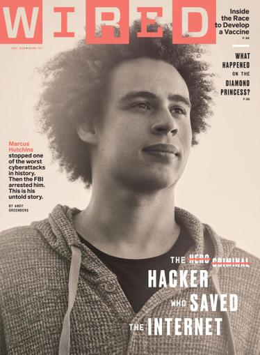 Wired Magazine June 1st, 2020 Issue Cover