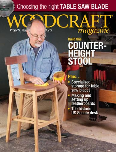Woodcraft Magazine June 1st, 2020 Issue Cover