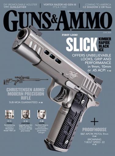 Guns & Ammo Magazine June 1st, 2020 Issue Cover