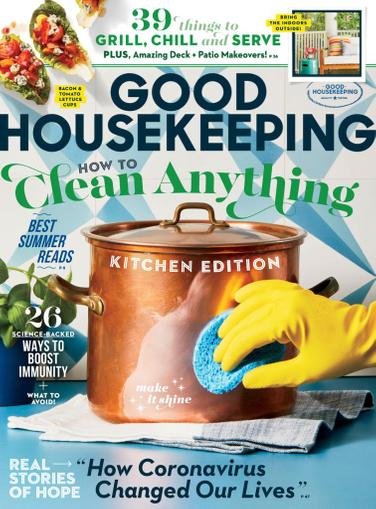 Good Housekeeping Magazine June 1st, 2020 Issue Cover