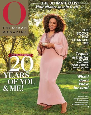O, The Oprah Magazine May 1st, 2020 Issue Cover