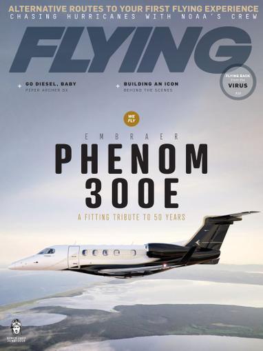 Flying Magazine June 1st, 2020 Issue Cover