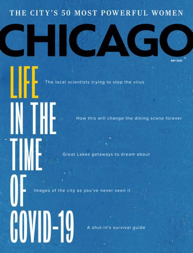 Chicago Magazine May 1st, 2020 Issue Cover