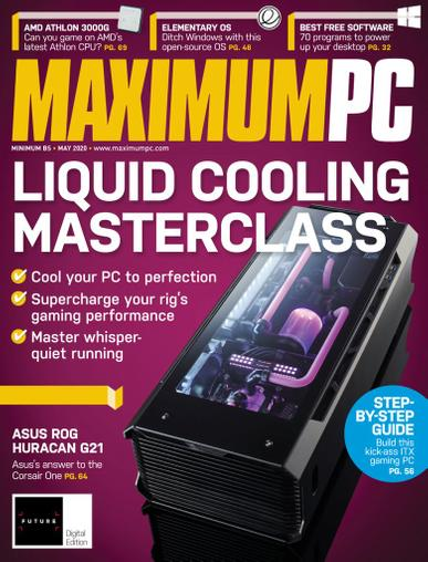 Maximum PC Magazine May 1st, 2020 Issue Cover