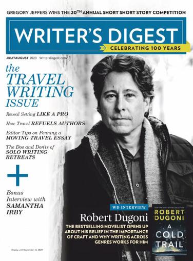 Writer's Digest Magazine July 1st, 2020 Issue Cover