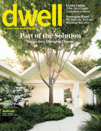 Dwell Magazine March 1st, 2020 Issue Cover