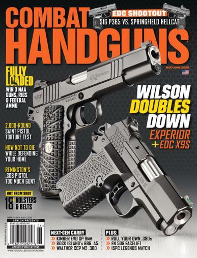 Combat Handguns Magazine May 1st, 2020 Issue Cover