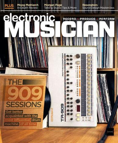 Electronic Musician Magazine June 1st, 2020 Issue Cover