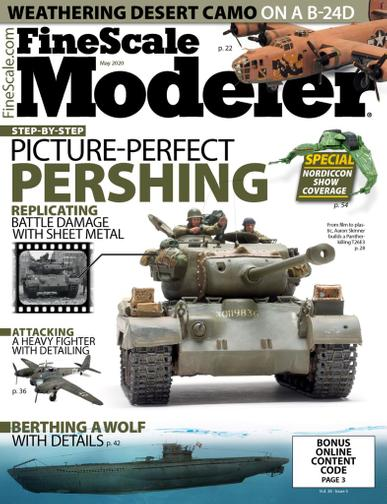 Finescale Modeler Magazine May 1st, 2020 Issue Cover