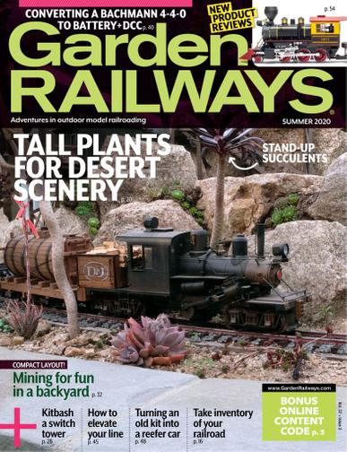 Garden Railways Magazine April 13th, 2020 Issue Cover