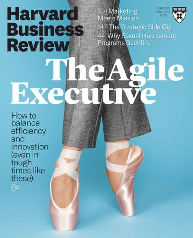 Harvard Business Review Magazine May 1st, 2020 Issue Cover