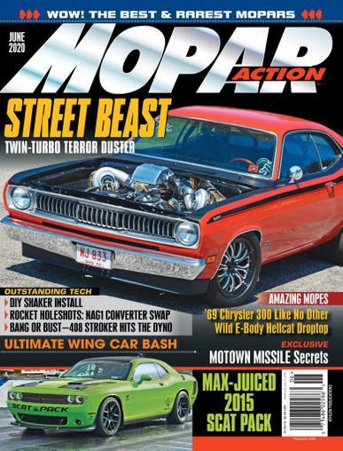 Mopar Action Magazine June 1st, 2020 Issue Cover