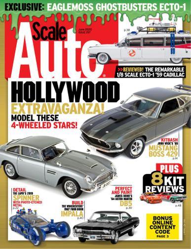 Scale Auto Magazine June 1st, 2020 Issue Cover