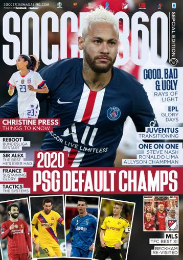 Soccer 360 Magazine May 1st, 2020 Issue Cover