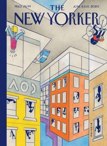 The New Yorker Magazine June 8th, 2020 Issue Cover